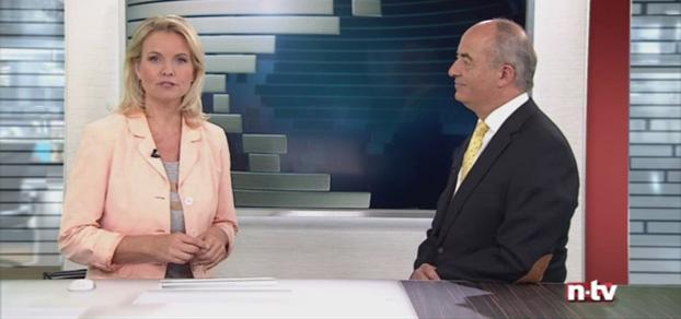 Werbung - Volker Schmidt-Jennrich bei n-tv