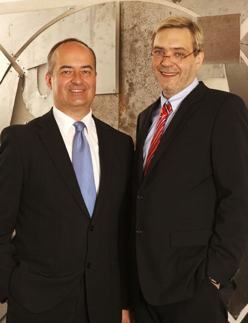 Volker Schmidt-Jennrich und Gerd Bennewirtz